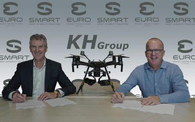 KH Group & Smart AIS breiden uit met drones van Euro Drone Inspections