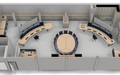 Vernieuwde controlekamer en nieuw besturingssysteem voor Hexion-fabriek